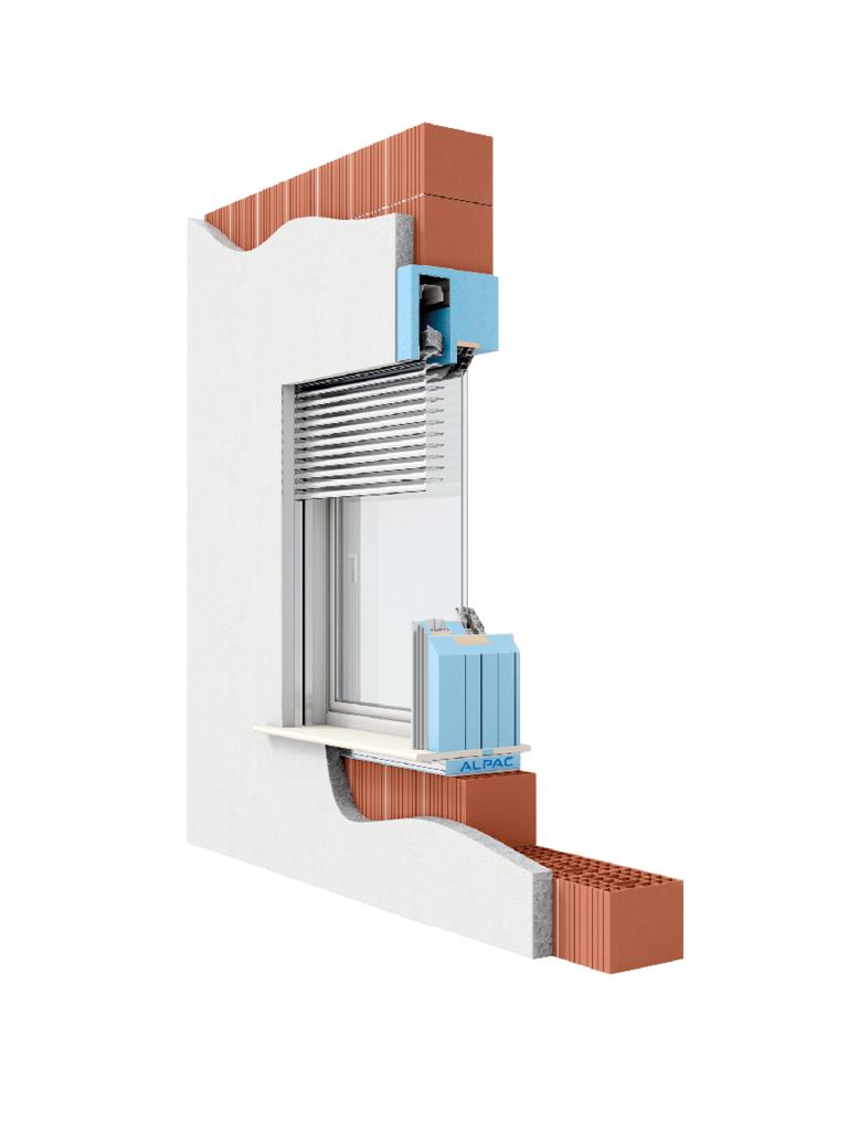 Sistema Di Oscuramento Per Finestre monoblocco presystem per frangisole - alpac