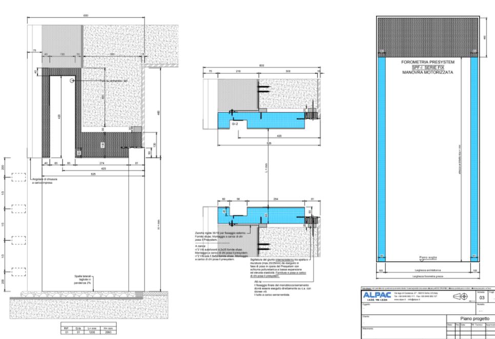 Progettazione foro finestra LEED