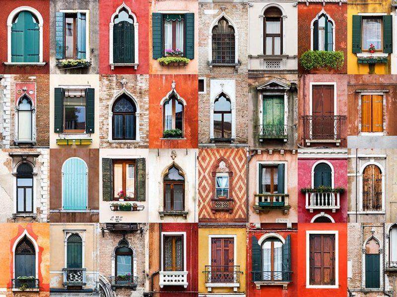 facciata finestre